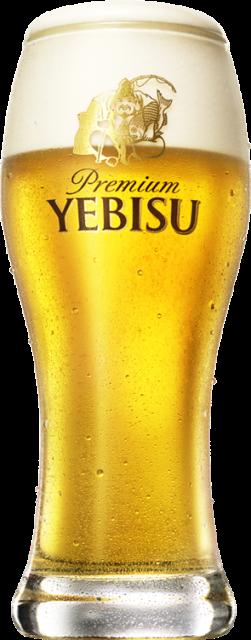 恵比寿に来たら、 やっぱりヱビスビール。