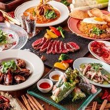 歓送迎会のパーティーはDaiで豪華な美食体験