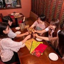 アジアン料理×オトナ女子会に◎