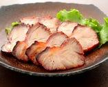 一番人気の自家製焼豚!