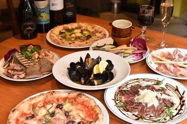 薪窯ピザ Loquace da MARIO 溝の口  コースの画像