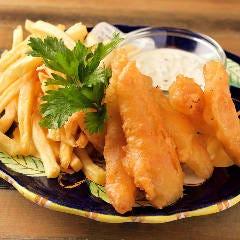 新鮮鮮魚のフィッシュ&チップス