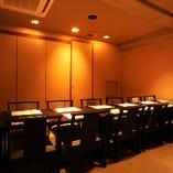 テーブル個室 8名様までイメージ