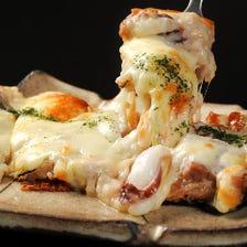 話題になる変わり種「寿司ピザ」