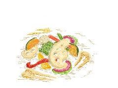 季節の温野菜サラダ ~バーニャカウダ風ドレッシング~