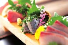 ◆毎朝競り落とす新鮮魚介