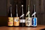 日本酒専用冷蔵庫で60~70種の地酒、珍酒を取り扱っております