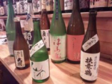 日本酒は日替わりで20~30本!店主こだわりの品揃え!
