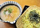 石垣黒鶏の白湯出汁つけ麺