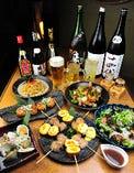 「宴会コース」飲み放題込¥3,500(全6品)