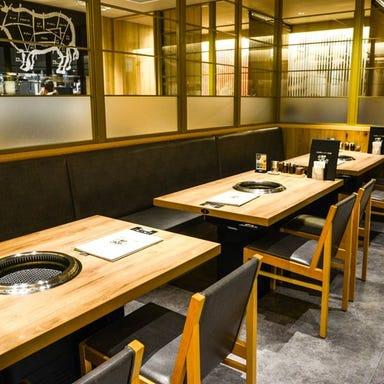 JA全農ミートフーズ直営 焼肉本舗 ぴゅあ 北千住マルイ店 店内の画像