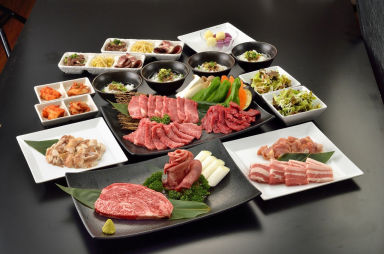JA全農ミートフーズ直営 焼肉本舗 ぴゅあ 北千住マルイ店 コースの画像