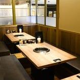 小上がり半個室≪2~12名≫大切な方との飲み会、接待・会食etc.に