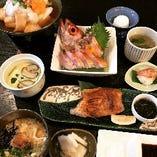寿司 刺身 炭火焼… 色んな食べ方が出来るのどぐろフルコース