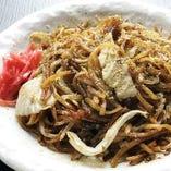 味付けのジャンルが豊富!もちっとした生麺を使用した焼きそば