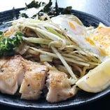 日光生麺焼きそば(塩)