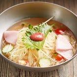 すっきり酢醤油スープ