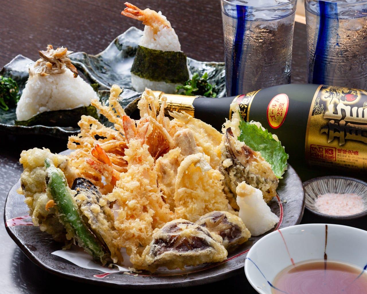 天ぷら11種盛り合わせ