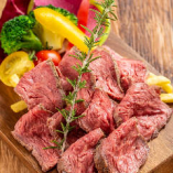 必殺!牛ハラミの特製ステーキ