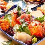 市場直送の新鮮な魚介類【千葉県など日本各地より】
