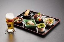 お好みのメニューとお酒を楽しむ1.5時間(生ビール1人1杯)1.600円コース