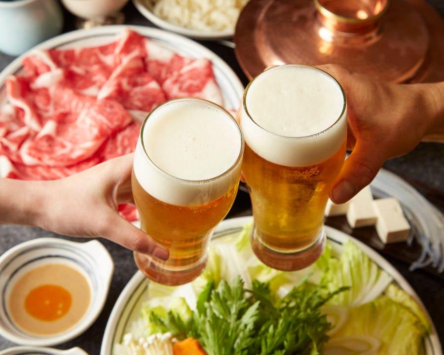 ■【90分食べ放題】特選牛しゃぶしゃぶコース <全5品>6,300円(税込)