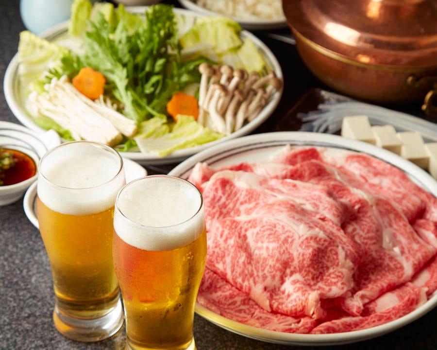 ■【90分食べ放題】極上和牛しゃぶしゃぶコース <全5品>8,400円(税込)