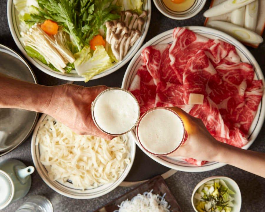 ■【90分食べ放題】特選牛すき焼きコース <全5品>6,300円(税込