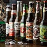 メキシコビールを中心に豊富なボトルビールをご用意しております