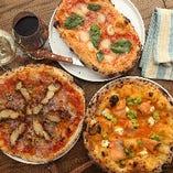 スペイン風ピザ「コカ」