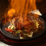 【写真映え◎】 ご提供時に上がる炎に驚き!のファヒータ
