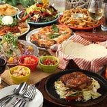 【3時間飲み放題付】Cabrillos(カブリロス)自慢料理のパーティーコース〈全8品〉