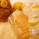 【レモンサワー】 鶏料理との相性抜群の5種のレモンサワー