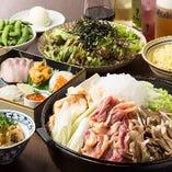 薩摩地鶏すき焼きコース