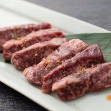和牛の新鮮ホルモン・タレ焼き