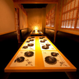 【テーブル個室(6名様~10名様)×3室】会社宴会や打ち上げにおすすめ