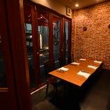 テーブル席個室(6名様~8名様)