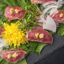 梅田×肉料理!!炙り肉寿司◎