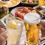 自慢の韓国料理とお酒をご堪能ください