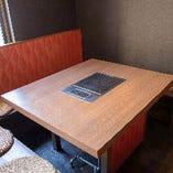 気軽に囲めるテーブル席(~6名様)