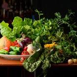 旬のシャキシャキ野菜を味わって、季節を感じてください◎