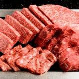 シェフ自ら選び抜いた黒毛和牛をじっくりとご賞味ください。