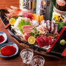 2時間飲み放題付宴会コース4,500円~