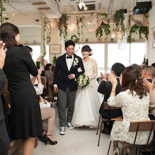 結婚式二次会や結婚お祝い会に大人気の会場です!
