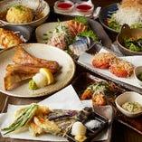 飲み会に嬉しい3H飲み放題付き宴会コースは2,980円(税込)〜