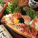 立川で1番、その先は西東京で1番お刺身で有名な居酒屋に…