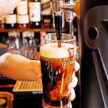定番の黒ビール!パーフェクトパイントのクリーミーな味わいを満喫!