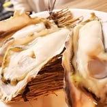 旬の生牡蠣も食べ放題♪