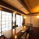 【個室/2~8名様】和室の内装と洋風のインテリアが織り成す異空間
