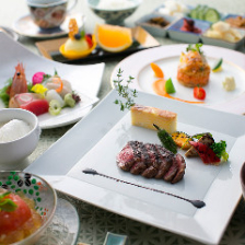 京・和食とフレンチの創作料理コース